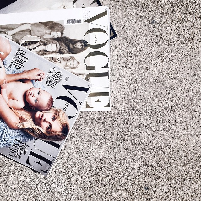 - Petite pause - ? | #magazine #vogue #journal #press #break #photo #mode #beauty #inspiration #fashion